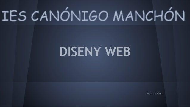 DISENY WEB Trini García Pérez