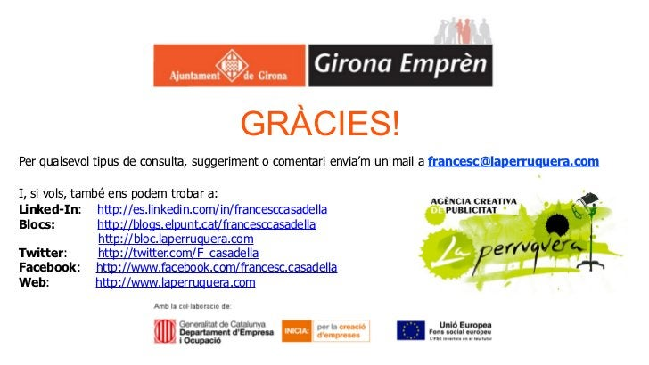 GRÀCIES!Per qualsevol tipus de consulta, suggeriment o comentari envia'm un mail a francesc@laperruquera.comI, si vols, ta...