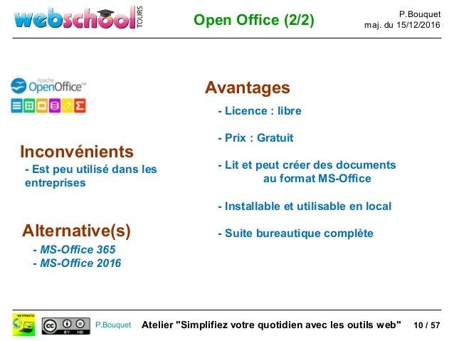 Webschool tours facilitez votre quotidien avec les sites - Open office impress telecharger gratuit ...