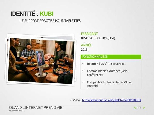 IDENTITÉ : KUBI           LE SUPPORT ROBOTISÉ POUR TABLETTES                                                FABRICANT     ...