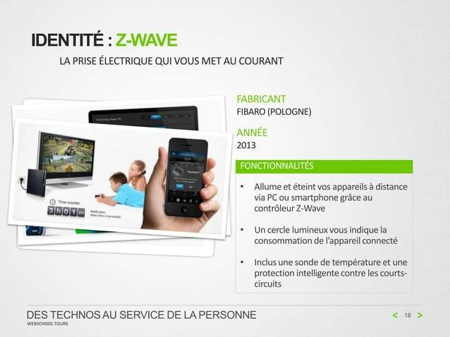 IDENTITÉ : Z-WAVE           LA PRISE ÉLECTRIQUE QUI VOUS MET AU COURANT                                             FABRIC...