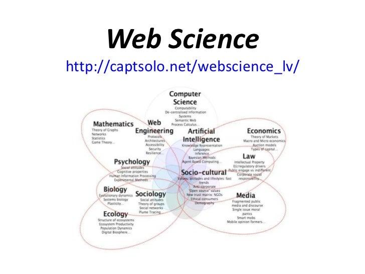 Web Sciencehttp://captsolo.net/webscience_lv/