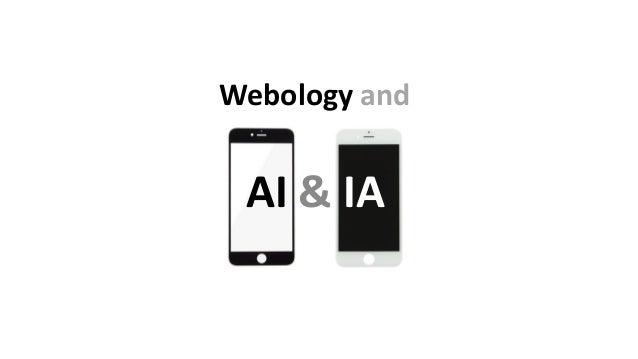 Webology and AI & IA