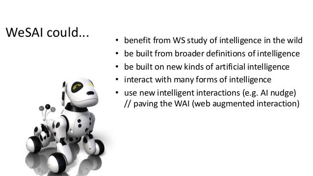 toward a Web linking, harnessing, combining very different types of intelligence • human intelligence, write access, • Soc...