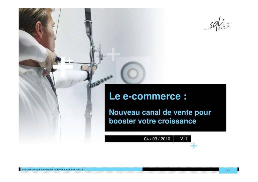 +                                          +                                                                Le e-commerce ...
