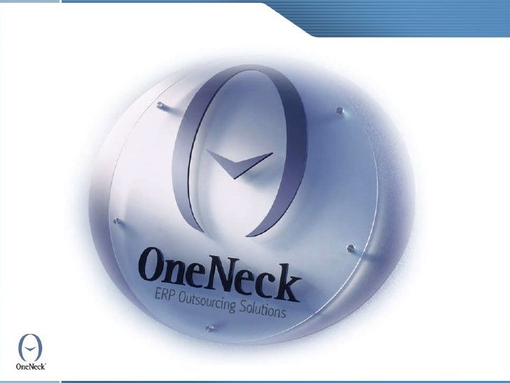 Dynamics AX, ERP Outsourcing and Managed Services by OneNeck IT Services