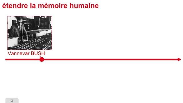 2  étendre la mémoire humaine  VannevarBUSH