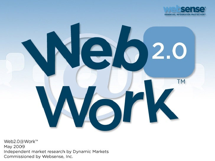 2009 Web2.0@Work Survey of 1,300 IT Managers Worldwide