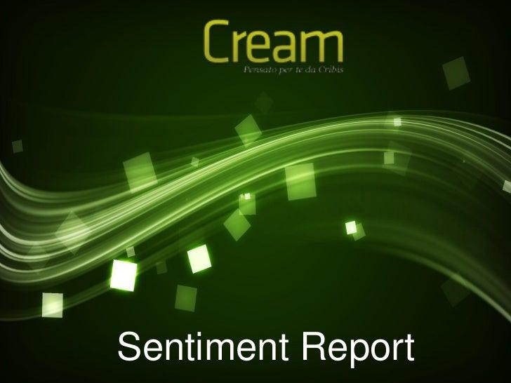 Sentiment Report