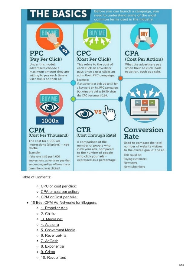 10 Best Cpm Ad Networks 2018 Best Networks For Bloggers And Advertise