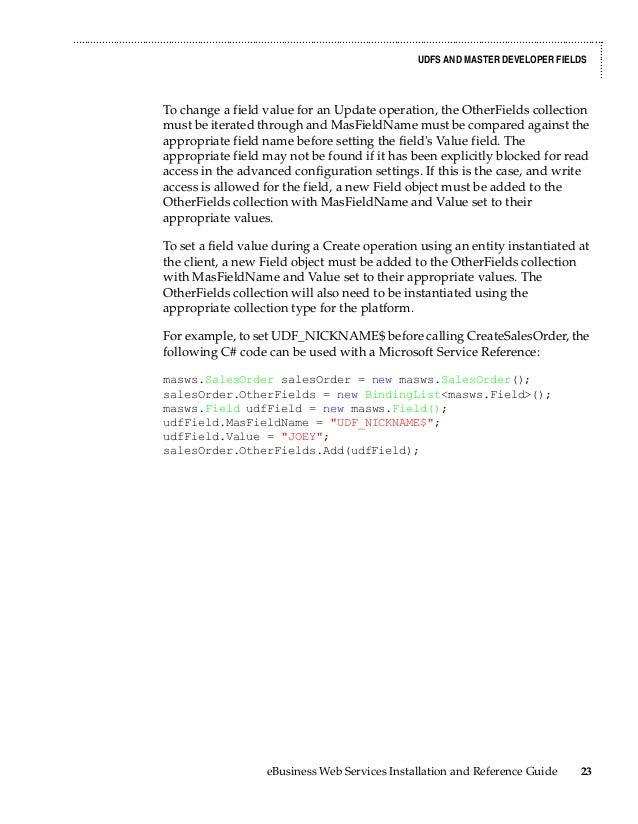 Printable Worksheets sage example worksheets : Sage 100 ERP (MAS90) Web Services Manual