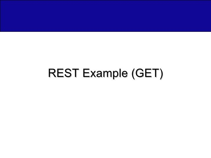 REST Example (GET)