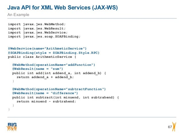 Introduction to SOAP/WSDL Web Services and RESTful Web Services