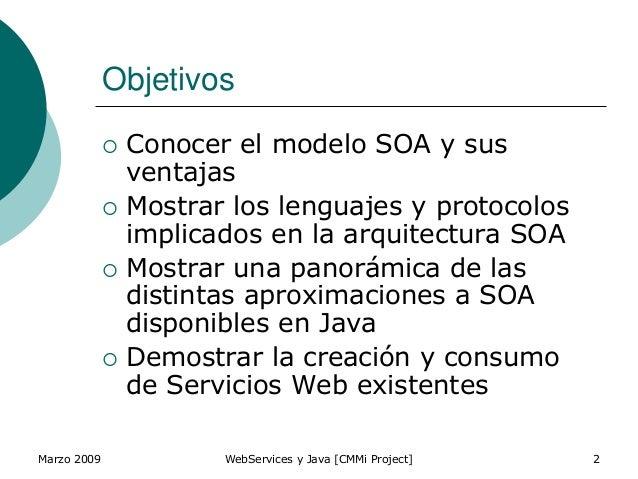 Web services y java Slide 2