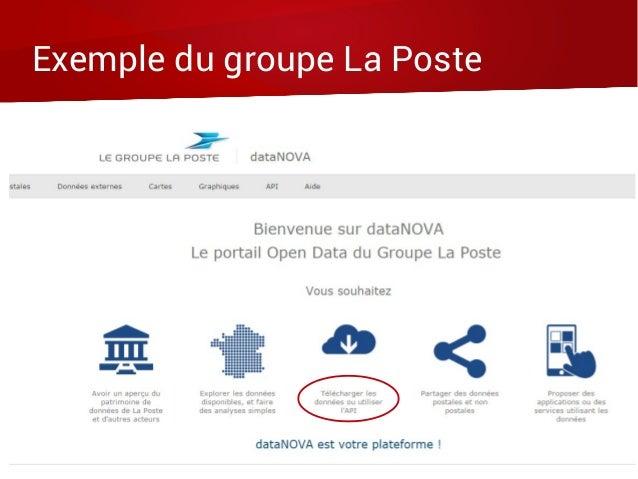 Exemple du groupe La Poste