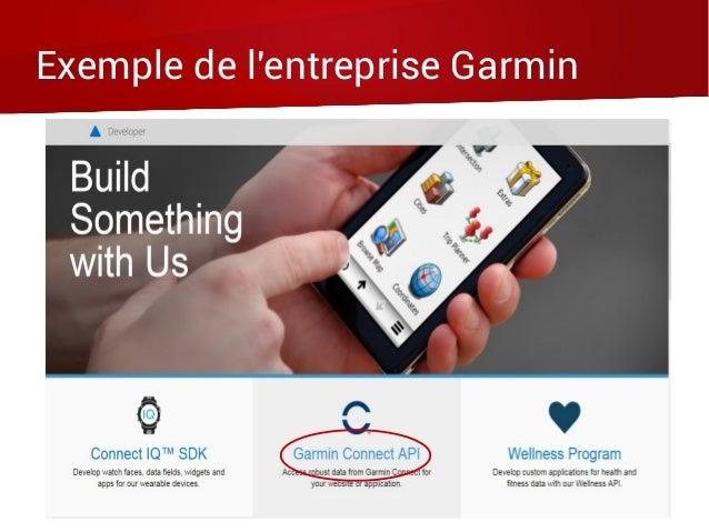 Exemple de l'entreprise Garmin