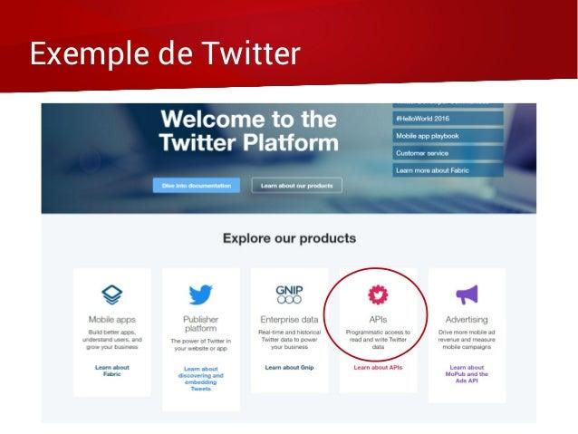 Exemple de Twitter