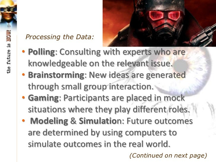 Processing the Data:• Visioning: Specific goals and action plans are  constructed and shared for implementation  in larger...