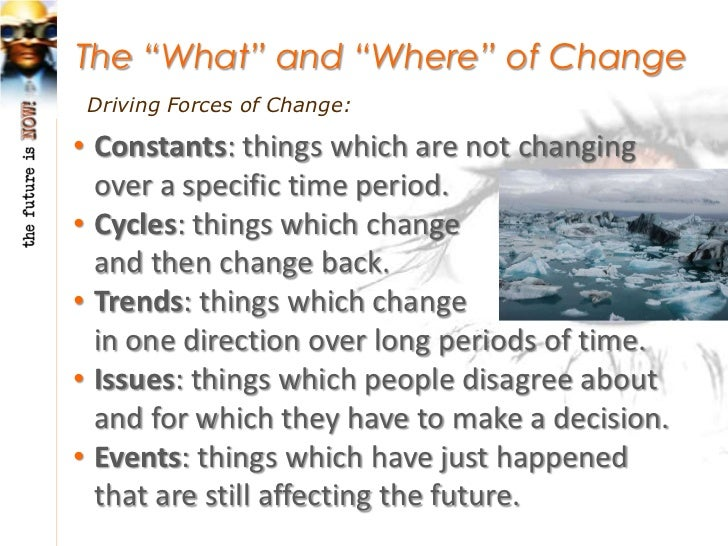 The Domains of Global Change:• Demographic: having to do with the size and  characteristics of populations.• Ecological: h...