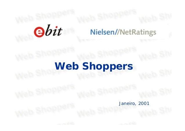 Web Shoppers Janeiro, 2001