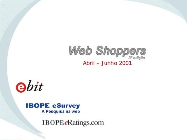 WebShoppers 3ª Edição