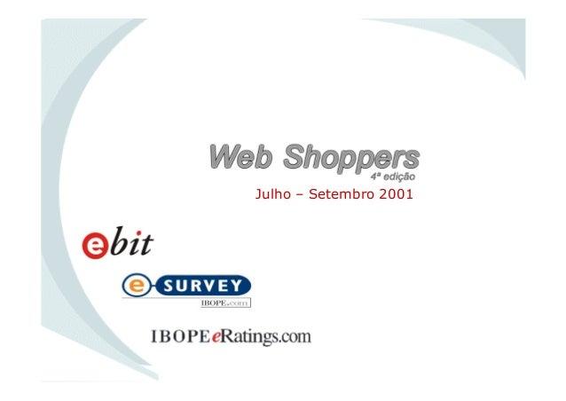 Julho – Setembro 2001