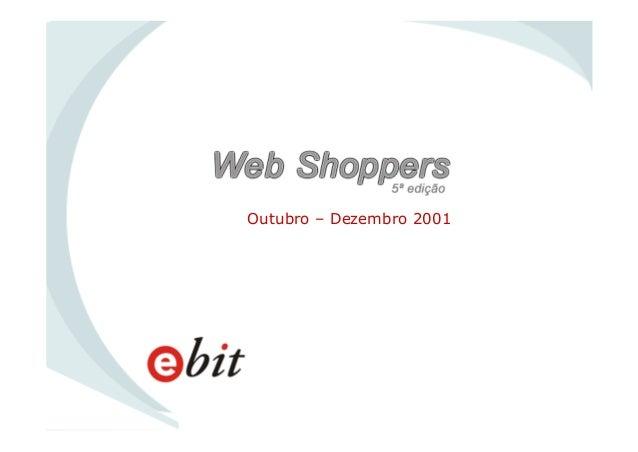 WebShoppers 5ª Edição