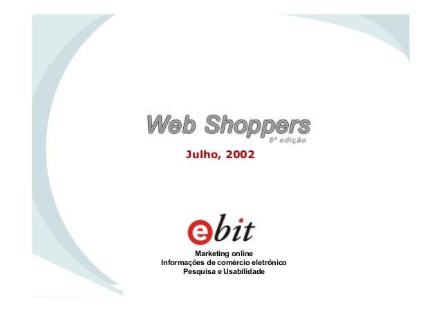 WebShoppers 6ª Edição