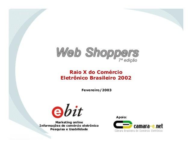 WebShoppers 7ª Edição