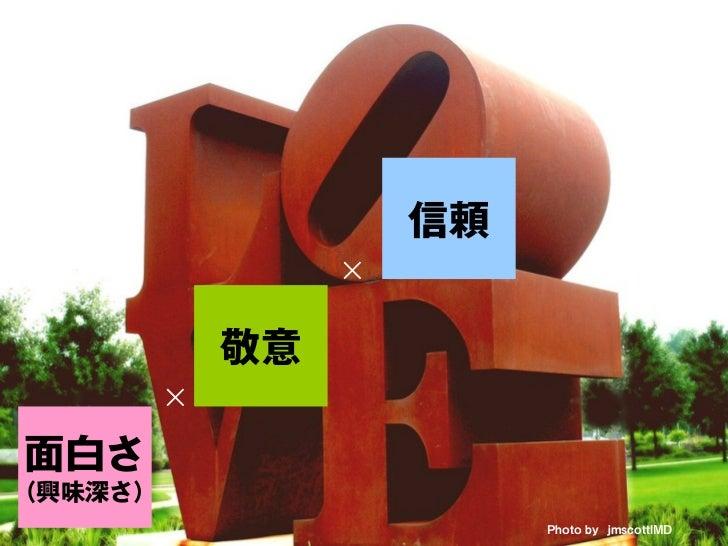 共有                           ×                      信頼                  ×             敬意         ×面白さ(興味深さ)               ...