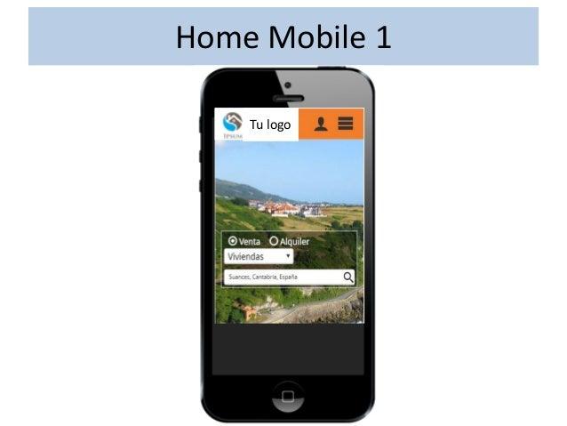 Buscador Mobile 1 – Listado & Mapa Vistas intercambiables