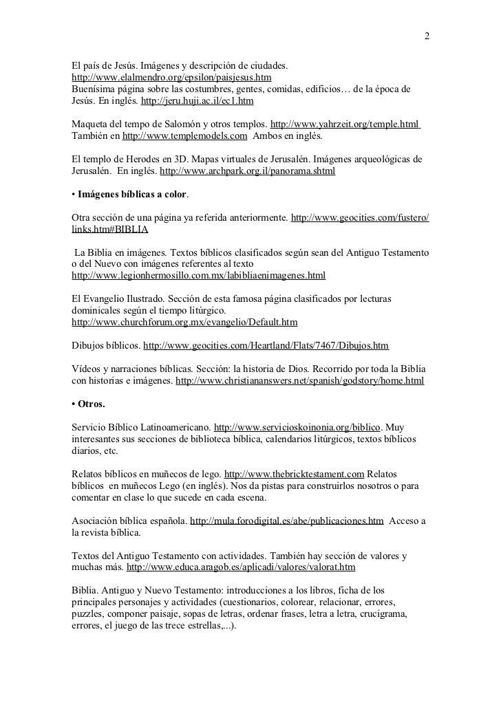 Webs interesantes para el profesorado de religin cat lica (2)