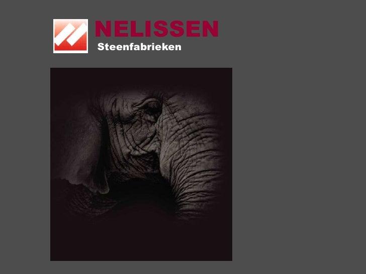 NELISSEN<br />Steenfabrieken<br />