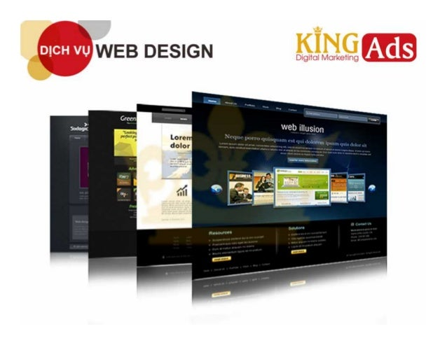 Website thiết kế theo giao diện chuẩn