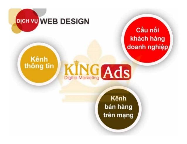 Website thiết kế theo giao diện chuẩn Slide 2