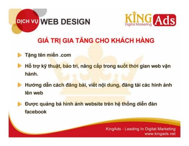 Thiết kế web chuyên nghiệp, uy tín