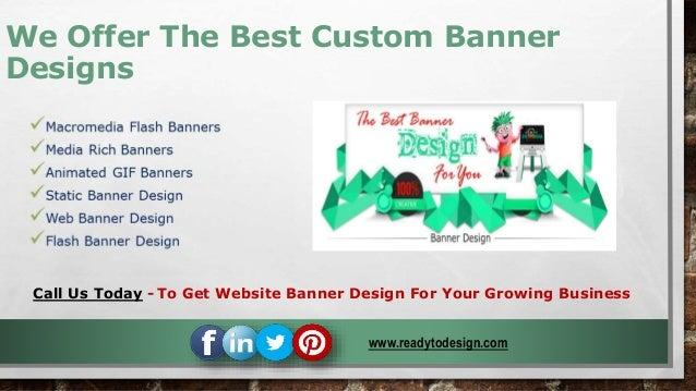 Website Banner Design Company - Get The Best Custom Banner Design To …