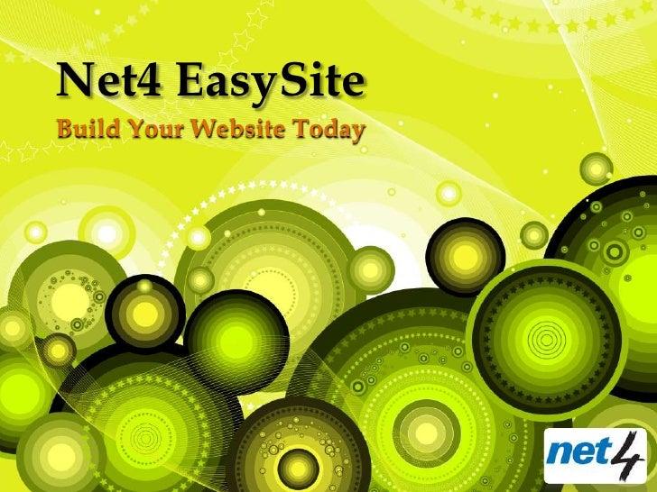 Net4 EasySiteBuild Your Website Today
