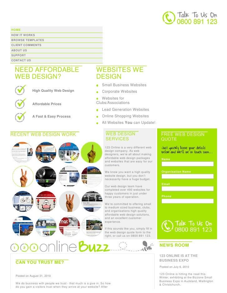 Website Design New Zealand