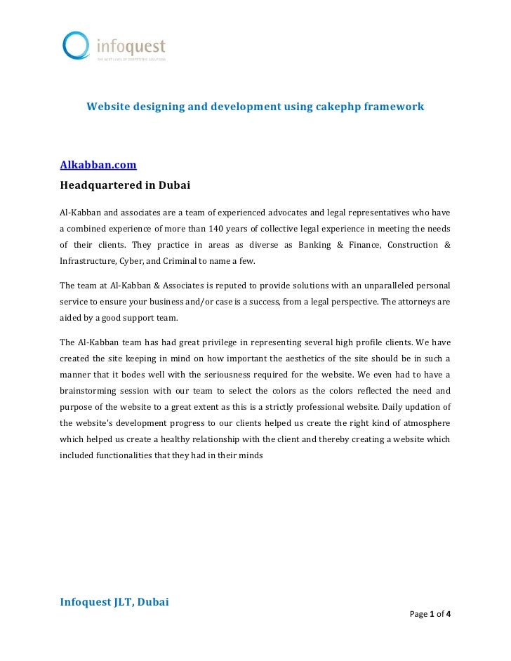 Website designing and development using cakephp frameworkAlkabban.comHeadquartered in DubaiAl-Kabban and associates are a ...