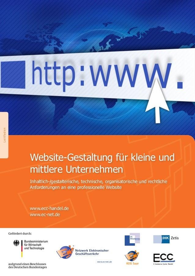BildmotivWebsite-Gestaltung für kleine undmittlere UnternehmenInhaltlich-/gestalterische, technische, organisatorische und...