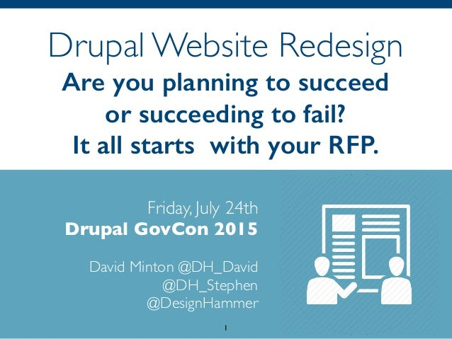 Drupal Website Redesign