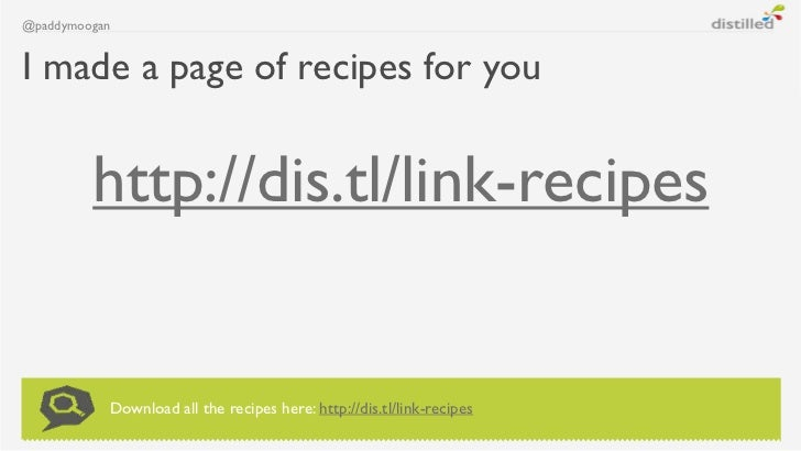 @paddymooganI made a page of recipes for you         http://dis.tl/link-recipes           Download all the recipes here: h...