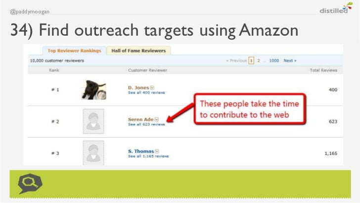 @paddymoogan34) Find outreach targets using Amazon