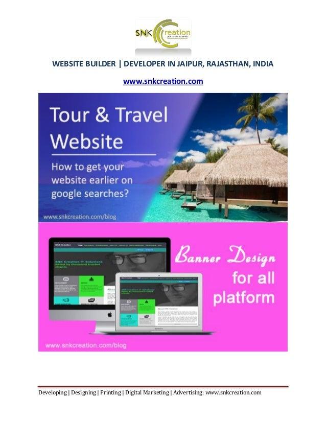 Developing | Designing | Printing | Digital Marketing | Advertising: www.snkcreation.com WEBSITE BUILDER | DEVELOPER IN JA...