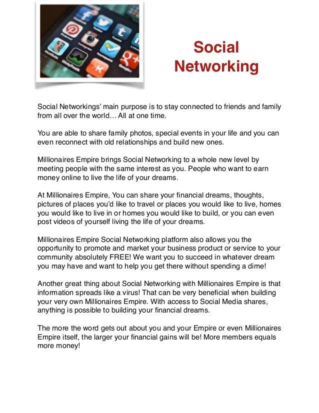 Meeting millionaires website