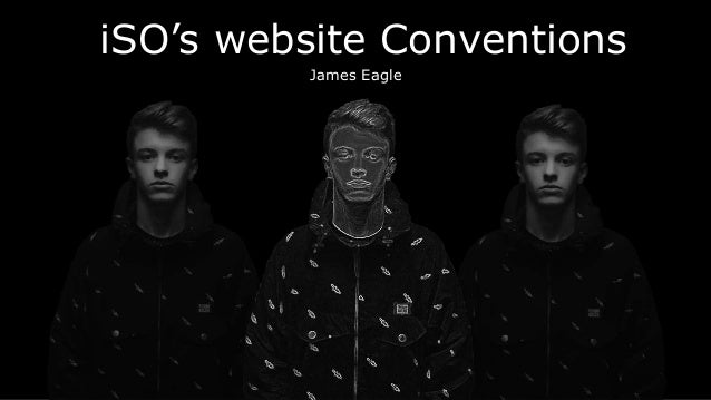 iSO's website Conventions James Eagle