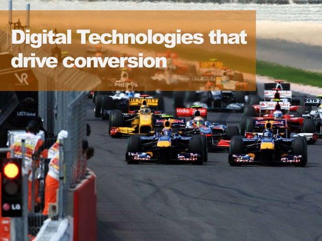 1919 Digital Technologies that drive conversion