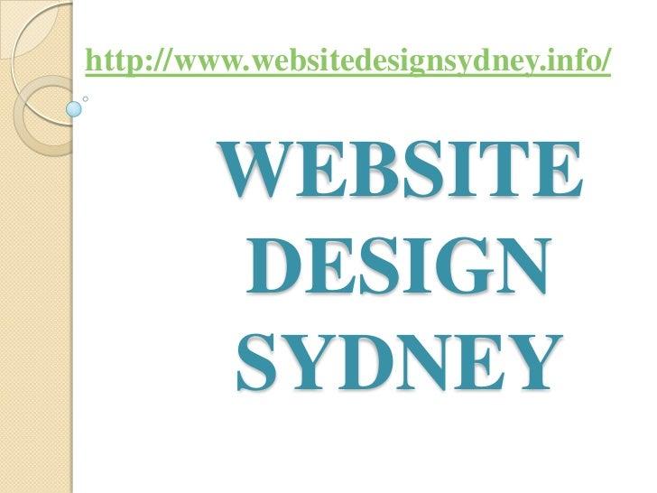http://www.websitedesignsydney.info/        WEBSITE        DESIGN        SYDNEY
