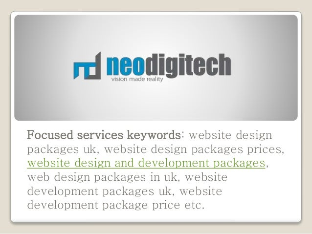 Website Design And Development Packages In London Uk Neodigitech